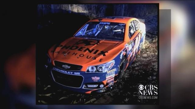 Stolen NASCAR car found in suburban Atlanta