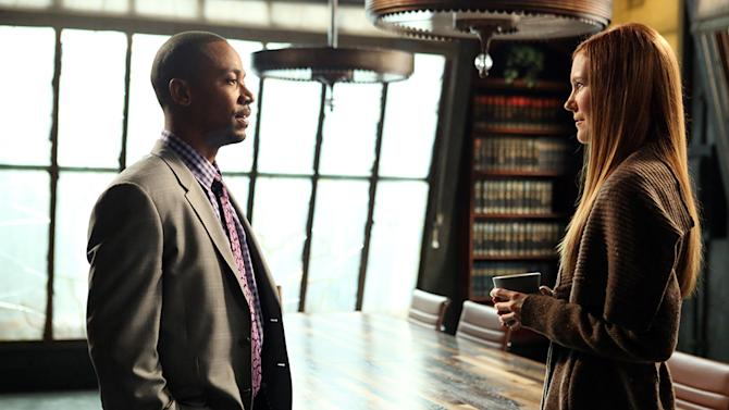 """Scandal"" -- ""Truth or Consequences"" COLUMBUS SHORT, DARBY STANCHFIELD"