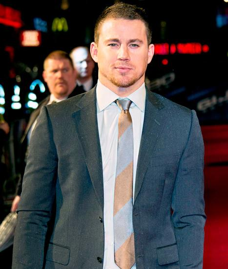 Channing Tatum Returns to Work on Film Set After Daughter's Birth