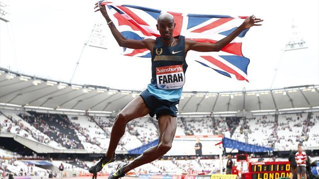 World Athletics Championships - Farah at the peak of his powers for double repeat