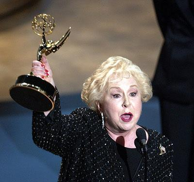 """Doris Roberts of """"Everybody Loves Raymond"""" wins Best Supporting Actress in a Comedy 53rd Annual Emmy Awards - 11/4/2001"""