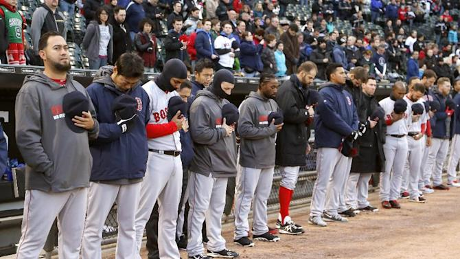 White Sox wear Boston Strong on 1-year anniversary