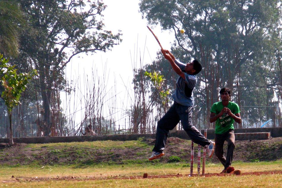 Cricket at IIT Indore - by Satyajit Chatterjee [SCPC5]