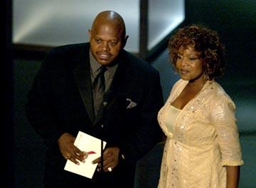 Charles S. Dutton, Alfre Woodard 55th Annual Emmy Awards - 9/21/2003
