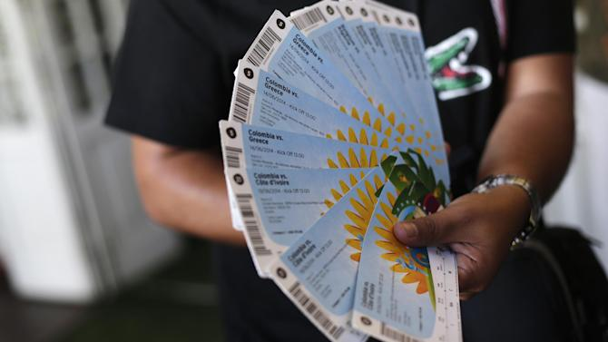 World Cup - Brazil 360: FIFA 'refuses to replace stolen tickets', then resells them