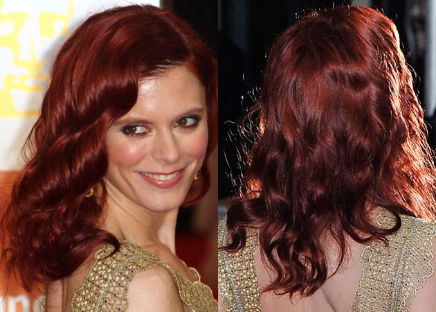 emilia-fox-hair-baftas-2012