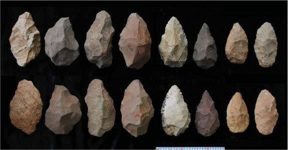Scientists have unearthed more than 350 ancient tools in Konso, Ethiopia that were used by humans' ancient ancestors. The tools, which span roughly 1 million years of evolution, show a gradual progression to more refined shaping.