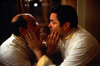 Stanley Tucci and Oliver Platt in The Impostors