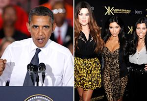 Barack Obama Doesn't Like His Daughters Watching the Kardashians, Says Michelle