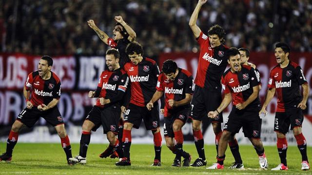 South American Football - Newell's, Olimpia reach Libertadores semis
