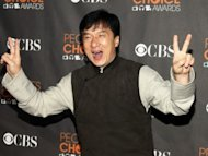 "Jackie Chan on ""Knee-drop Guru"""