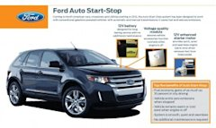 Ford Auto Start-Stop fact sheet