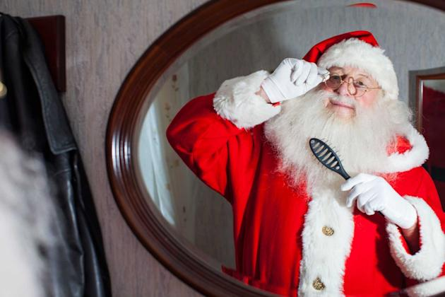 Ron Horniblew is Britain's longest serving Santa Claus (Caters)
