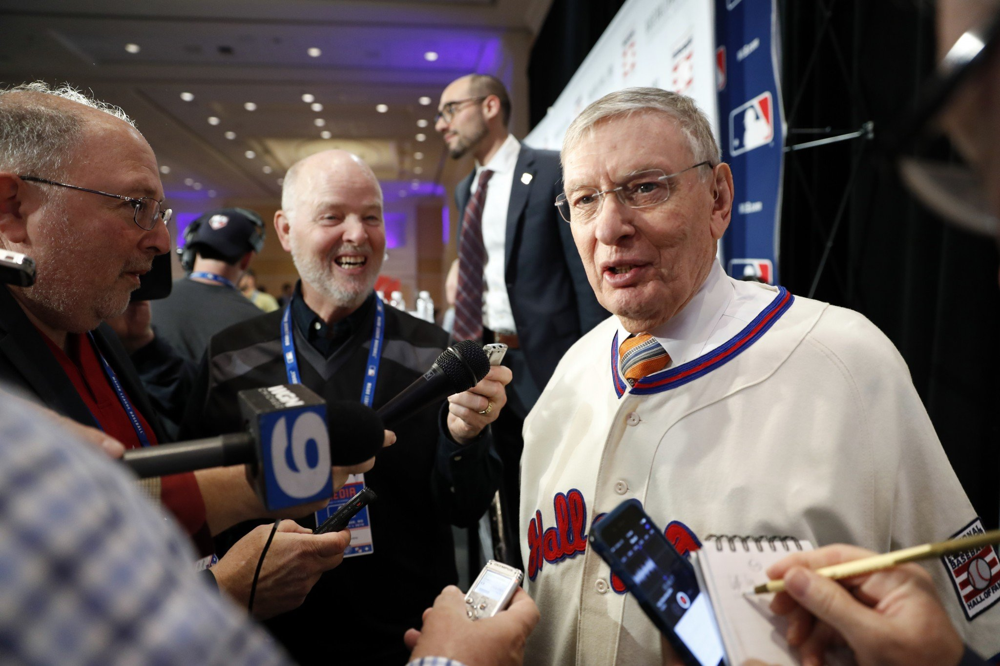 Bud Selig being in the Hall of Fame should have big ramifications. (AP)