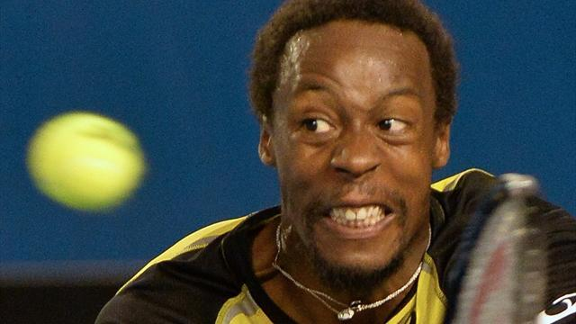 Tennis - Monfils beats holder Gasquet to win Montpellier title