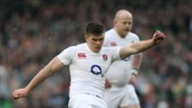 Rugby - Farrell boots England to Dublin triumph
