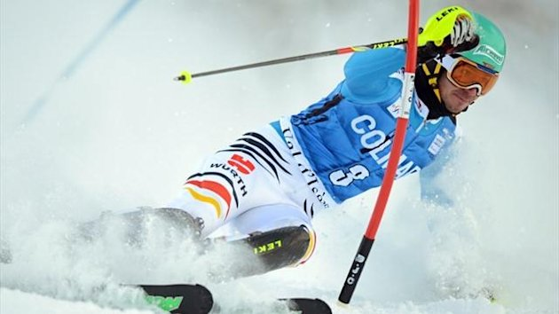Felix Neureuther belegt in Val d'Isere Platz zwei