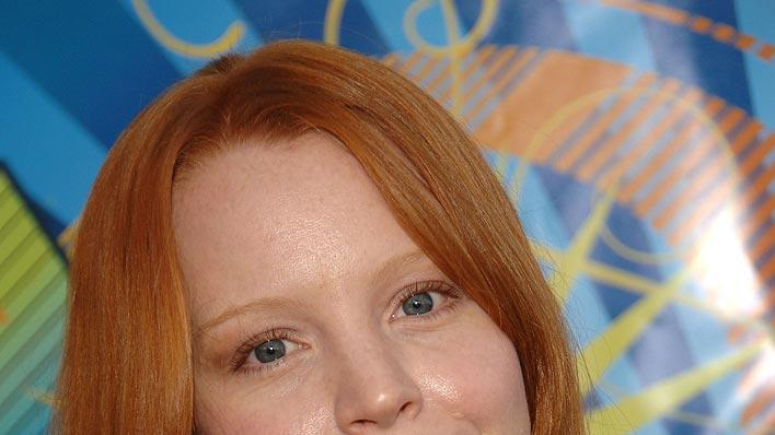 Lauren Ambrose arrives at the FOX TCA Party.