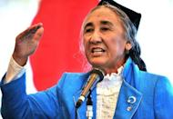 Exiled Uighur leader Rebiya Kadeer says her people face a fight for their very existence against Chinese repression as a conference in Japan threatens to drive a wedge between Tokyo and Beijing