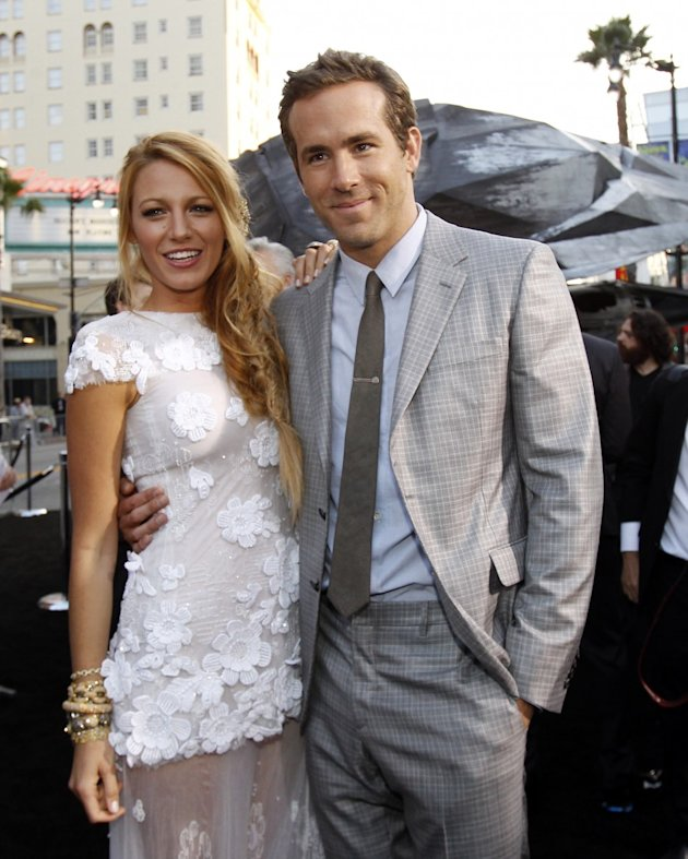 All The Details On Blake Lively's Martha Stewart Wedding: Marchesa Dress! Louboutin Heels! Burberry Suit!