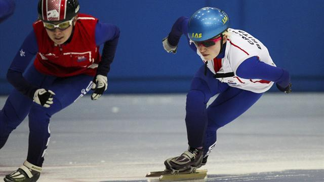 Short Track - Senior outings have Thomson ready for Olympic success in Brasov