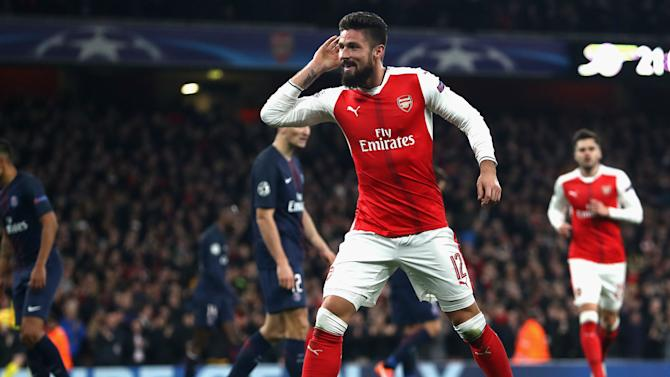Giroud staying at Arsenal - agent