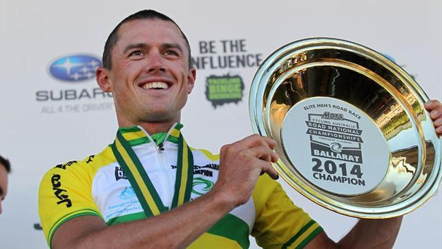 Cycling - Gerrans claims Australian road crown