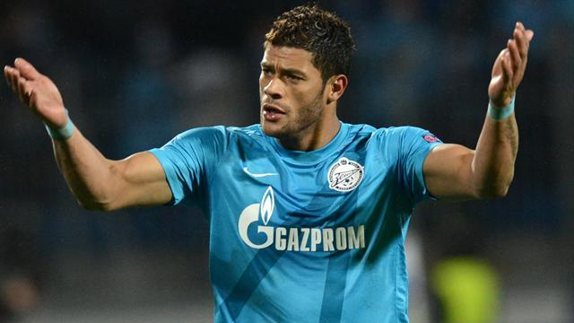 Russian Premier League - Hulk dazzles as Zenit sink Spartak in top of table clash