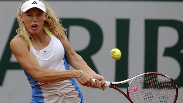 French Open - Wozniacki issues timely reminder to young guns