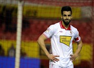 Sevilla's Alvaro Negredo, seen here during their Spanish La Liga match against Malaga, at the Ramon Sanchez Pizjuan stadium in Sevilla, on December 15, 2012. Malaga won 2-0