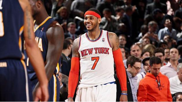 Basketball - Knicks looking for hometown discount from Anthony