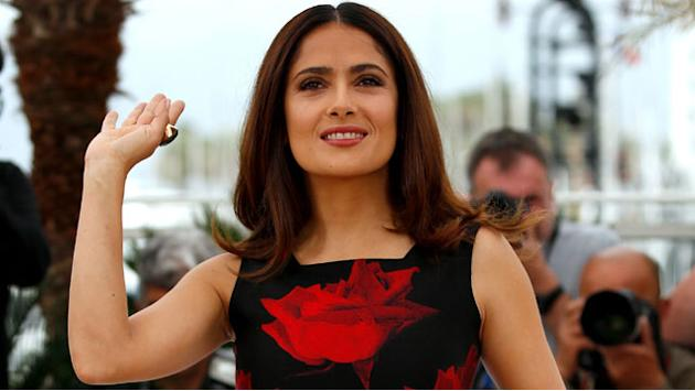 Salma Hayek: Racism in America Is the 'Big Elephant in the Room'
