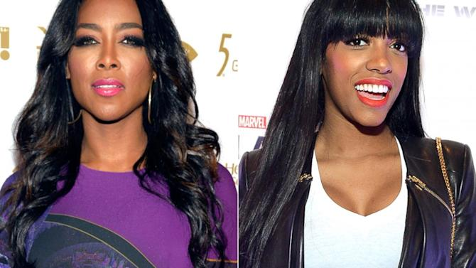 Did 'Real Housewives' Stars Kenya Moore and Porsha Stewart Get Into a Brawl?