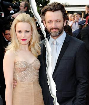 Rachel McAdams, Michael Sheen Split