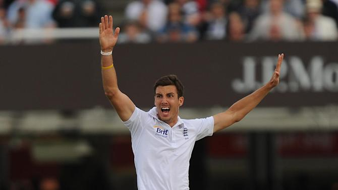 Steven Finn will not return to England despite his thigh problem