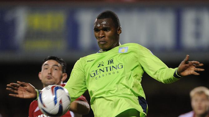 Christian Benteke, pictured, has been tipped for a big future by Gabriel Agbonlahor