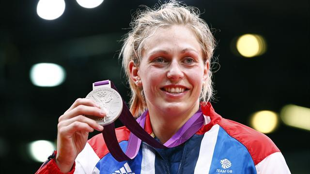 Judo - Olympian Gibbons wins on international return