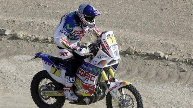 Dakar - Bikes: Lopez wins stage but Despres closes in