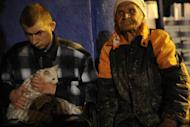 Victims of the flood rest in a temporary shelter in Krymsk. Flash floods deluged Russia's southern Krasnodar, killing at least 134 people in the region's worst natural disaster in decades, officials and witnesses said Saturday