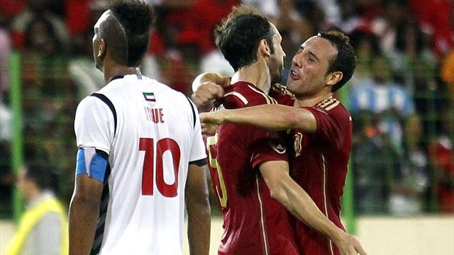 International friendlies - Cazorla nets as Spain struggle past Equatorial Guinea
