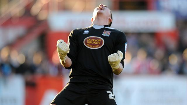 League Two - Guttridge and Nicholls see Northampton into play-off final