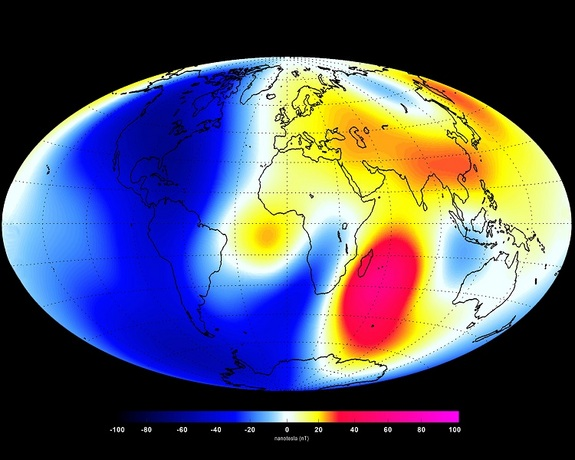 Earth's magnetic field, which protects the planet from huge blasts of deadly solar radiation, has been weakening over the past six months, according to data collected by a European Space Agency (ESA) satellite array called Swarm. The scientists who c...