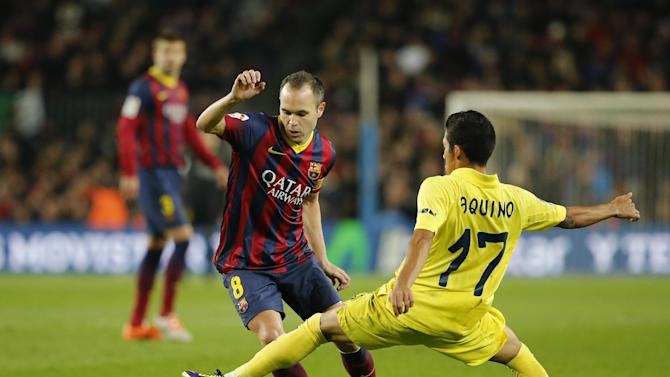 Barcelona to extend Iniesta's contract until 2018