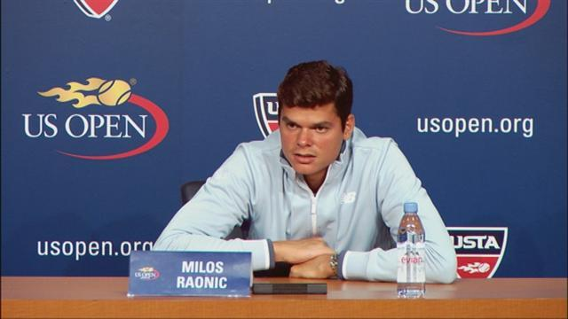 US Open - Canadian sleeper Raonic stirs in New York