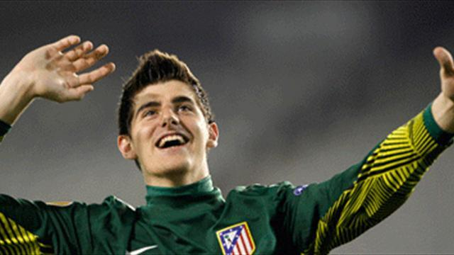 Liga - Chelsea keeper Courtois to stay at Atletico on loan