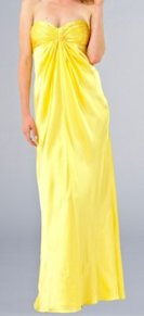 Edressme.com yellow gown, $99.00.