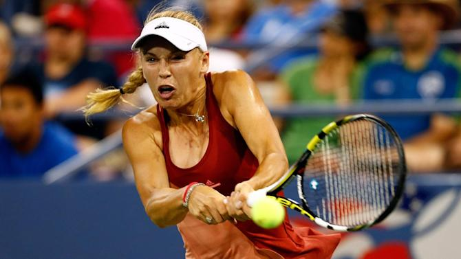 US Open - Wozniacki wallops Errani to reach semi-finals