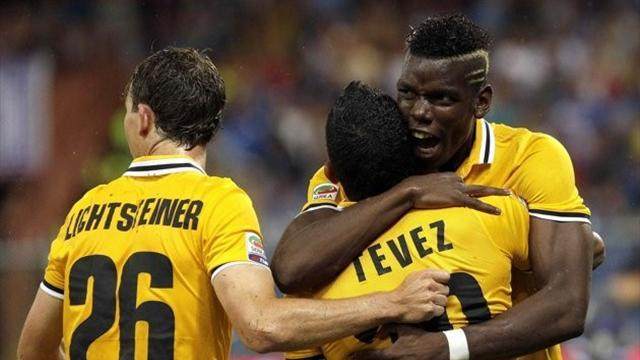 Serie A - Tevez nets debut winner as Juve begin defence with win