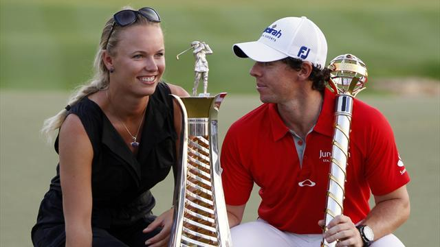 The Masters - Wozniacki to caddie for McIlroy in Masters par-three tournament