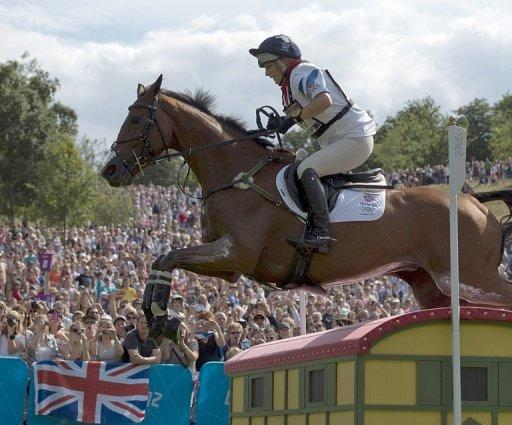 Zara Phillips has a chance of picking up an eventing medal with the British team who go into the final day